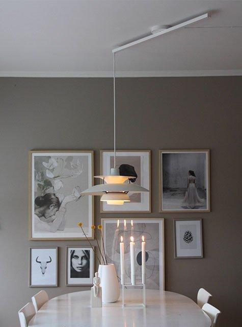 Lightswing Esszimmer (Single mattweiß)