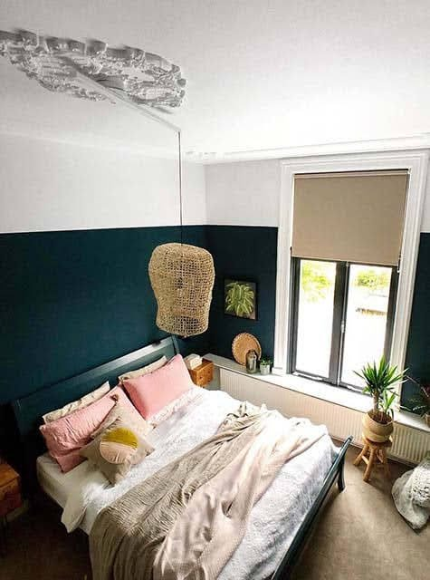 Lightswing Ornament Schlafzimmer (Single mattweiß)